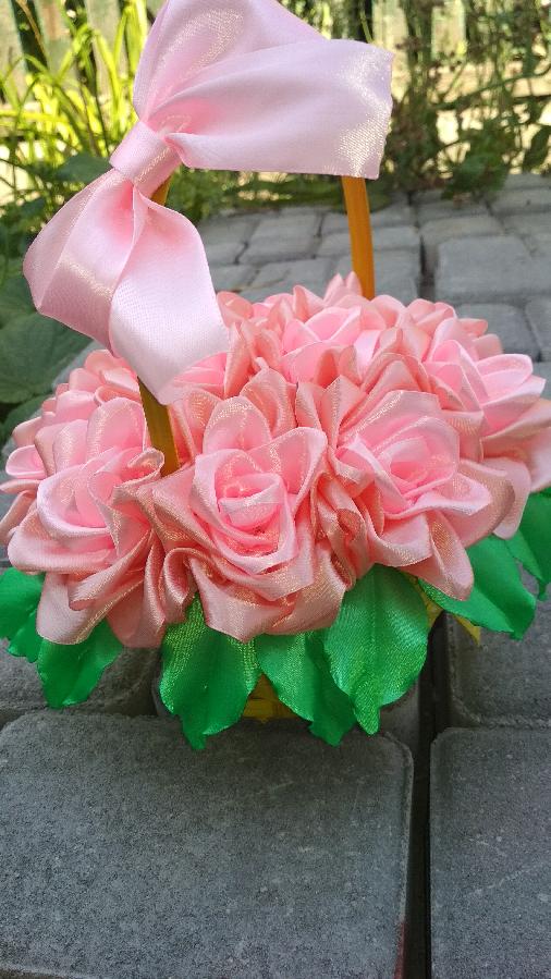Корзинка из роз, подарок