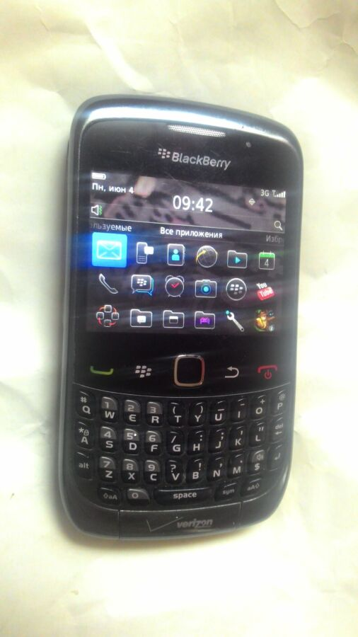 Продам CDMA  BlackBerry Curve 9330 для интертелекома