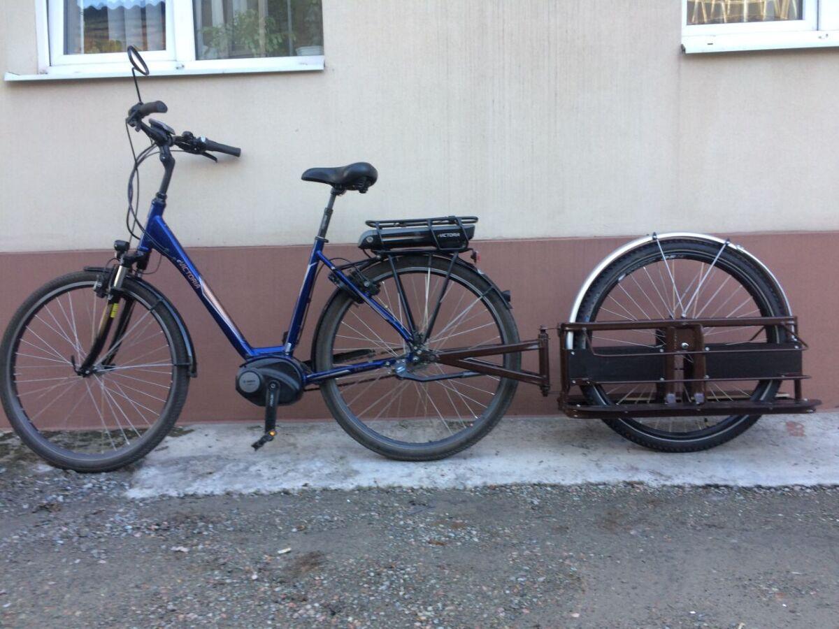 Одноколесный велоприцеп