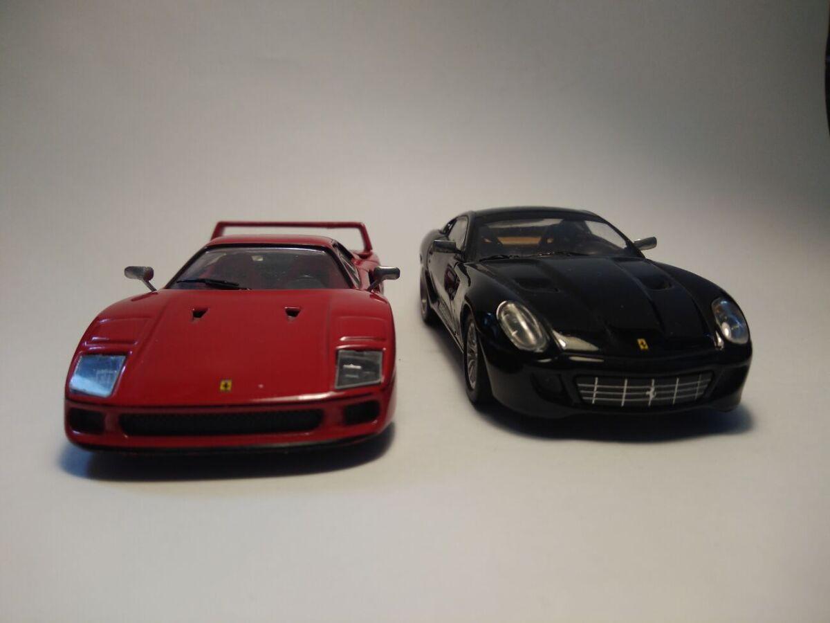 Масштабные модели Ferrari 1/43
