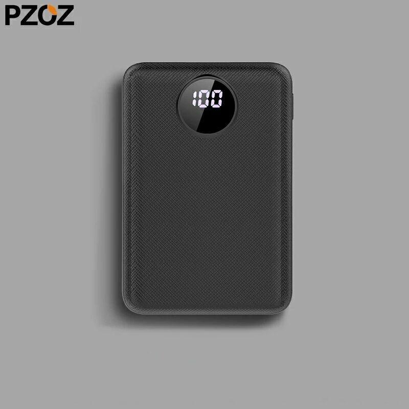 Pzoz Power Bank 10000mah павер банк акумулятор зарядка батарея
