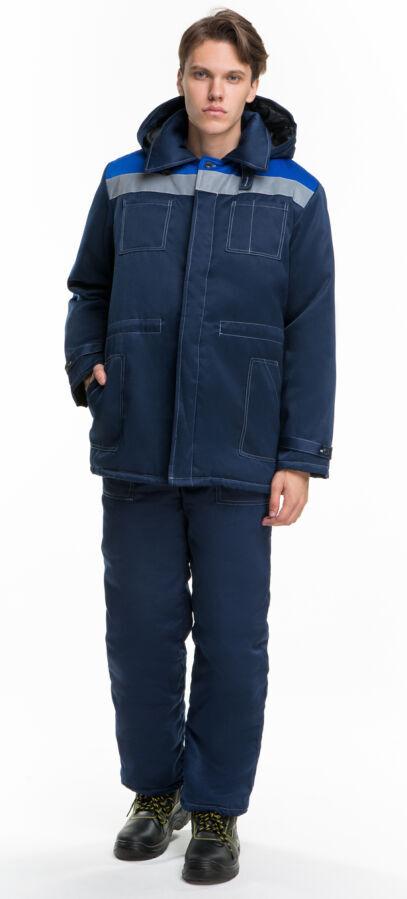 Куртка рабочая, спецодежда, форма, на синтепоне, для рабочих