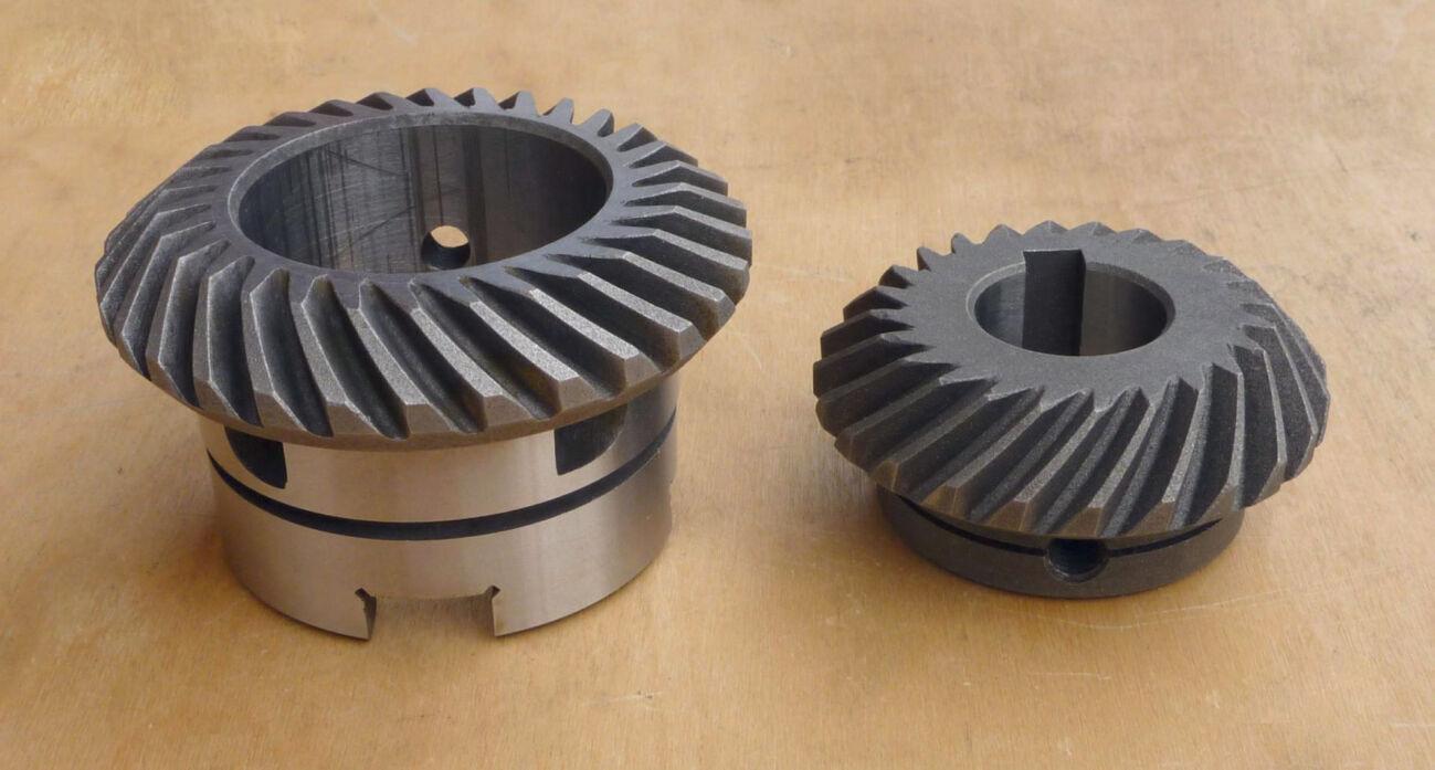 Шестерни - коническая пара ВФГ 67К25