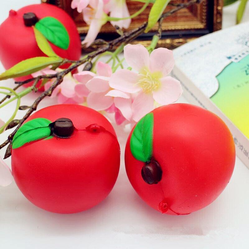Сквиш сквиши яблоко яблочко фрукт антистресс
