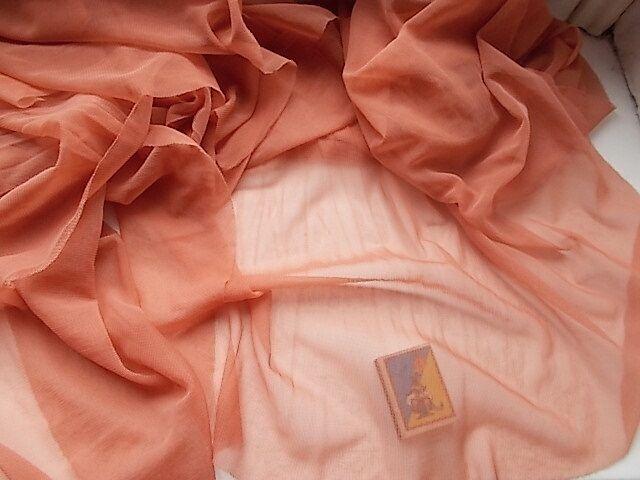 Ткань сетка капрон мягкая в форме полуколец    Для рукоделия, поделок