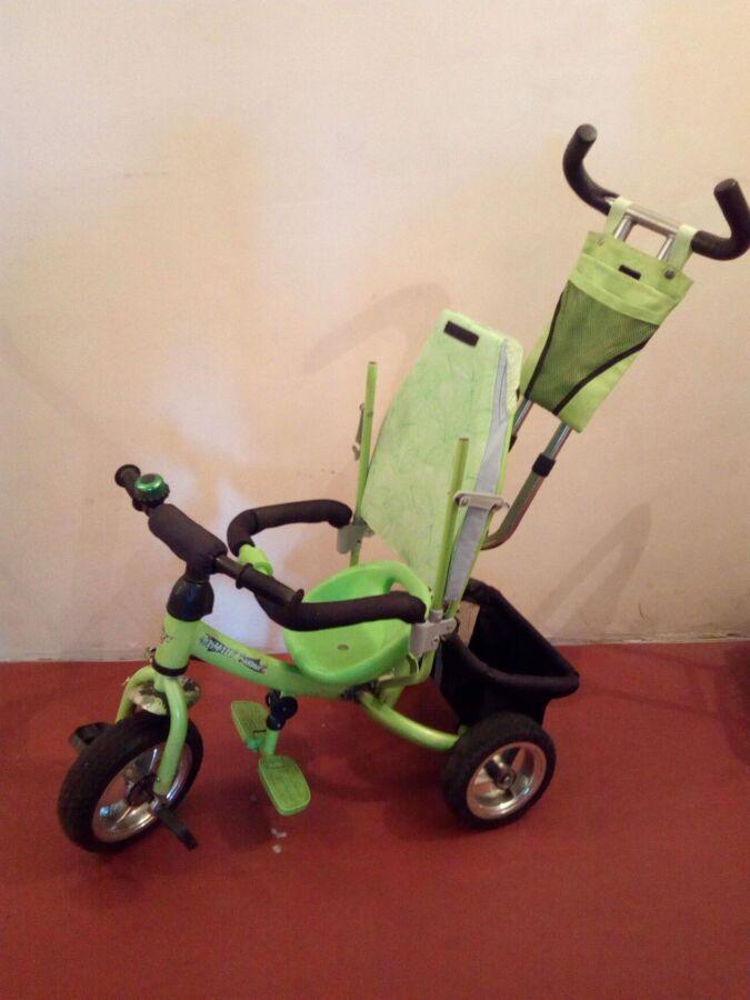 Детский трехколесный велосипед Azimut Trike