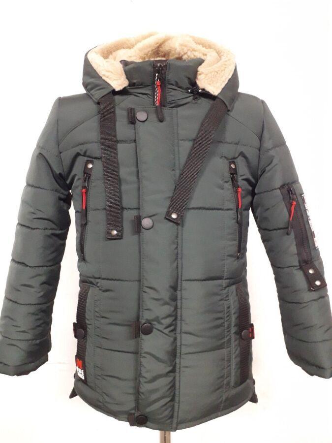 Зимняя подростковая куртка парка Sport Action