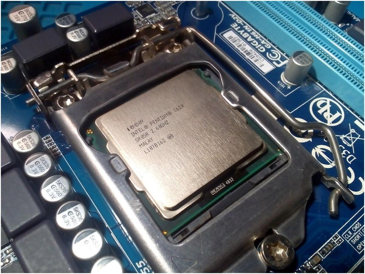 Процессор Intel Pentium G620 LGA1155