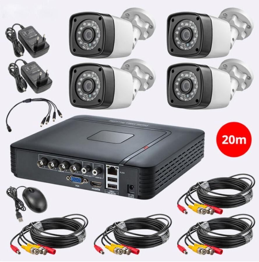 ШАРА ! Комплект видеонаблюдения FUERS 4CH 4.0MP 1520 P на 4 камеры
