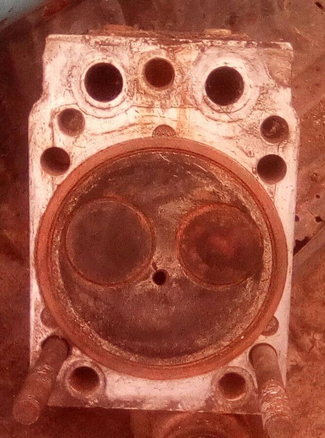 Головка блока цилиндров КАМАЗ 740