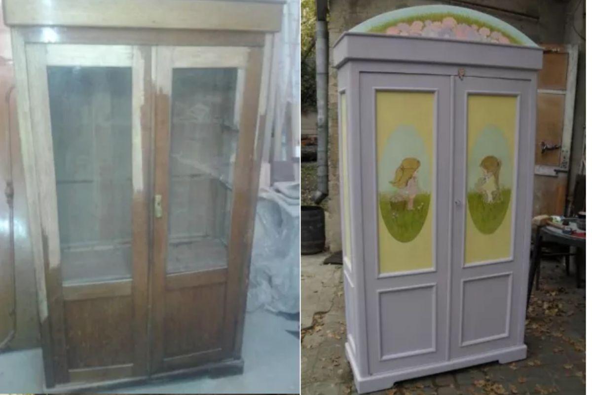 Покраска и ремонт мебели для дома. Не спешите покупать новую мебель!