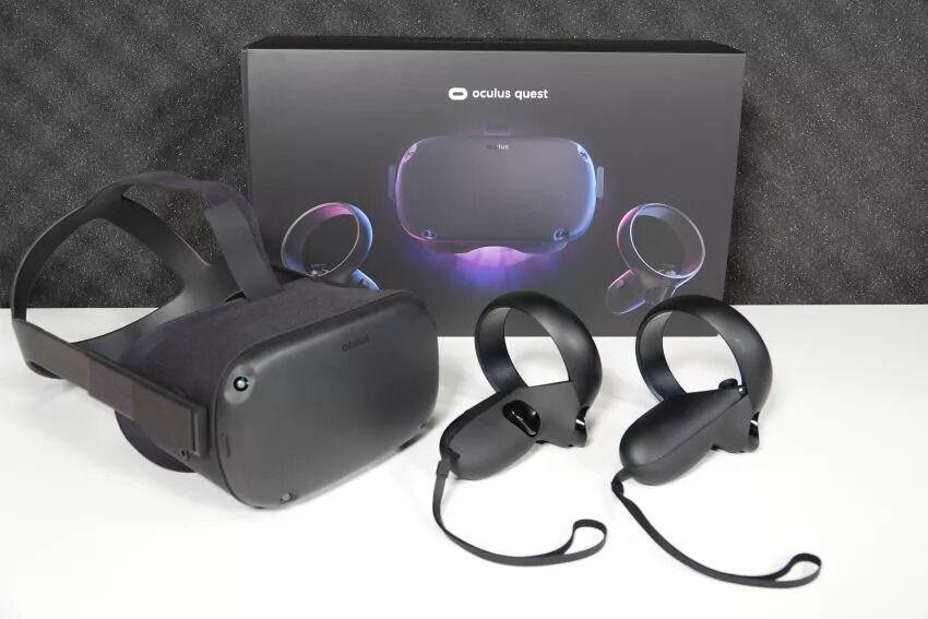 Очки виртуальной реальности Oculus Quest 128gb в идеальном состоянии