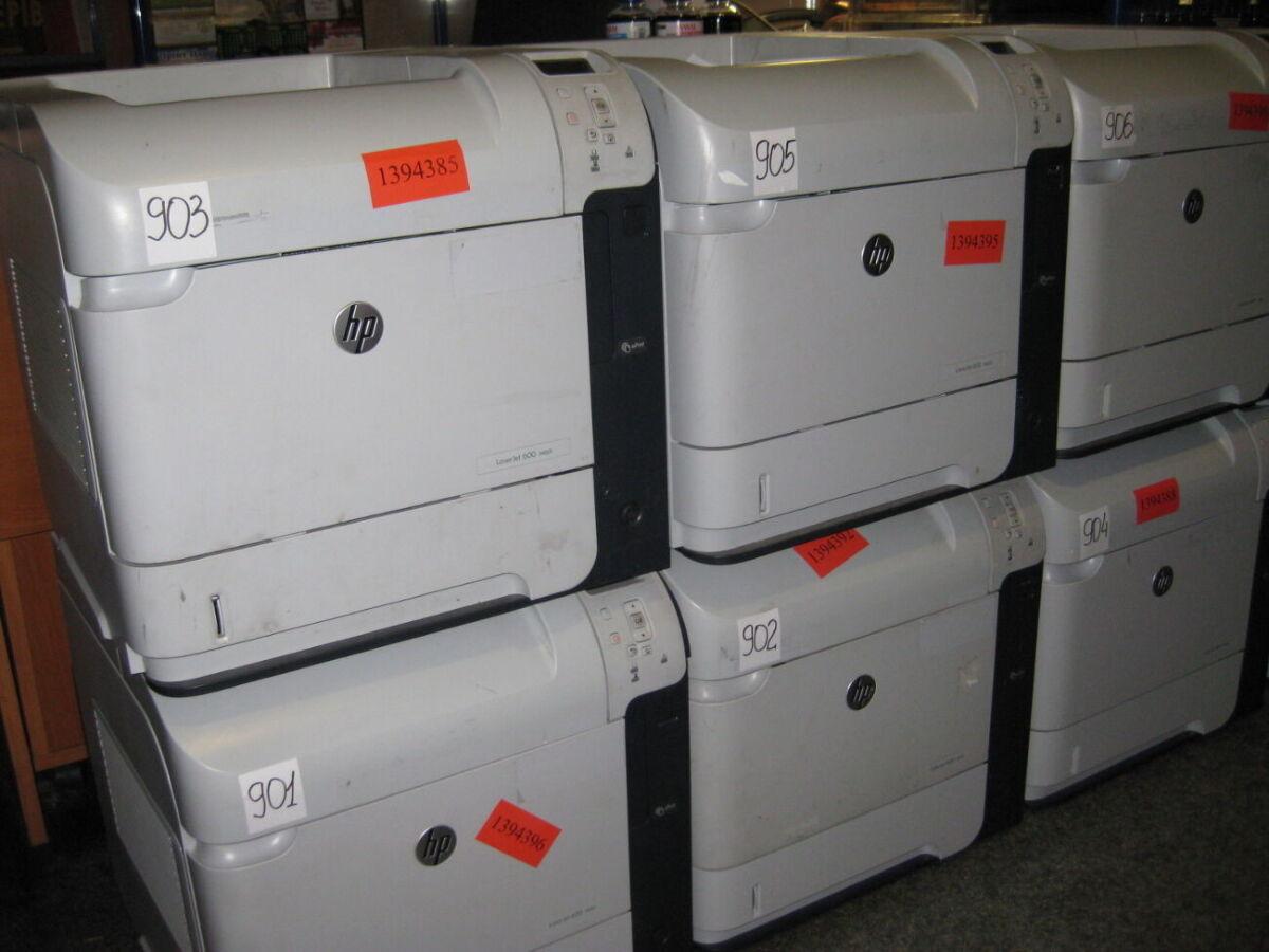 Принтер лазерний HP LJ Pro 600 M601DN