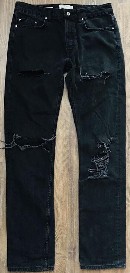 Рваные джинсы topman