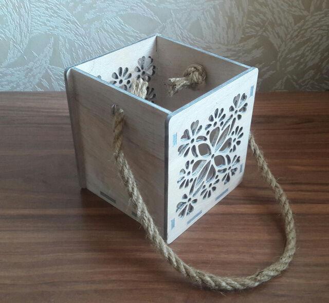 Подарочная коробка для цветов/кашпо
