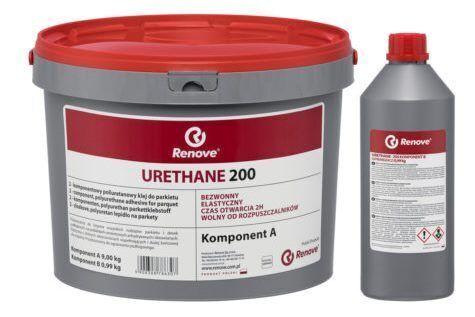Паркетный клей Renove Urethane 200 полиуретановый клей 9,99 кг.