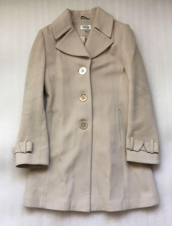 Стильное Демисезонное Женское Пальто VAUR (Украина) размер М (46 укр)