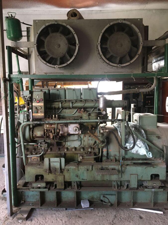 Німецький дизельний генератор 100 КВТ, відмінний стан, економний