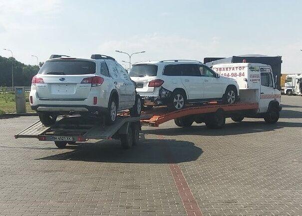 Перевозки габаритных грузов в Одессе. Услуги эвакуатора круглосуточно.