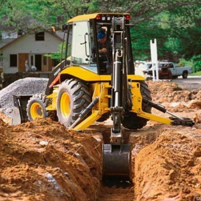 Предлагаю услуги экскаватор-погрузчик самосвалы,) копаем : ямы, канавы