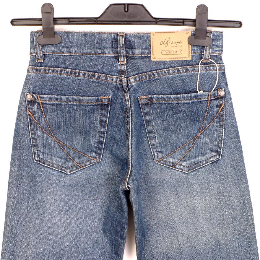 Cortefiel Испания прямые джинсы р.42/XS брюки стрейч штаны на девочку