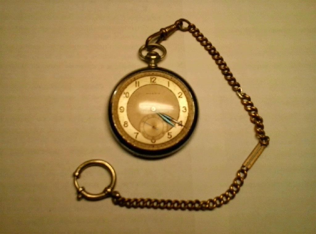 Швейцарський годинник кишеньковий MOERIS