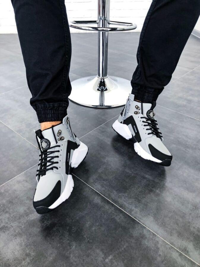 "Nike Huarache Winter Acronym""Grey"" (Топ качество"