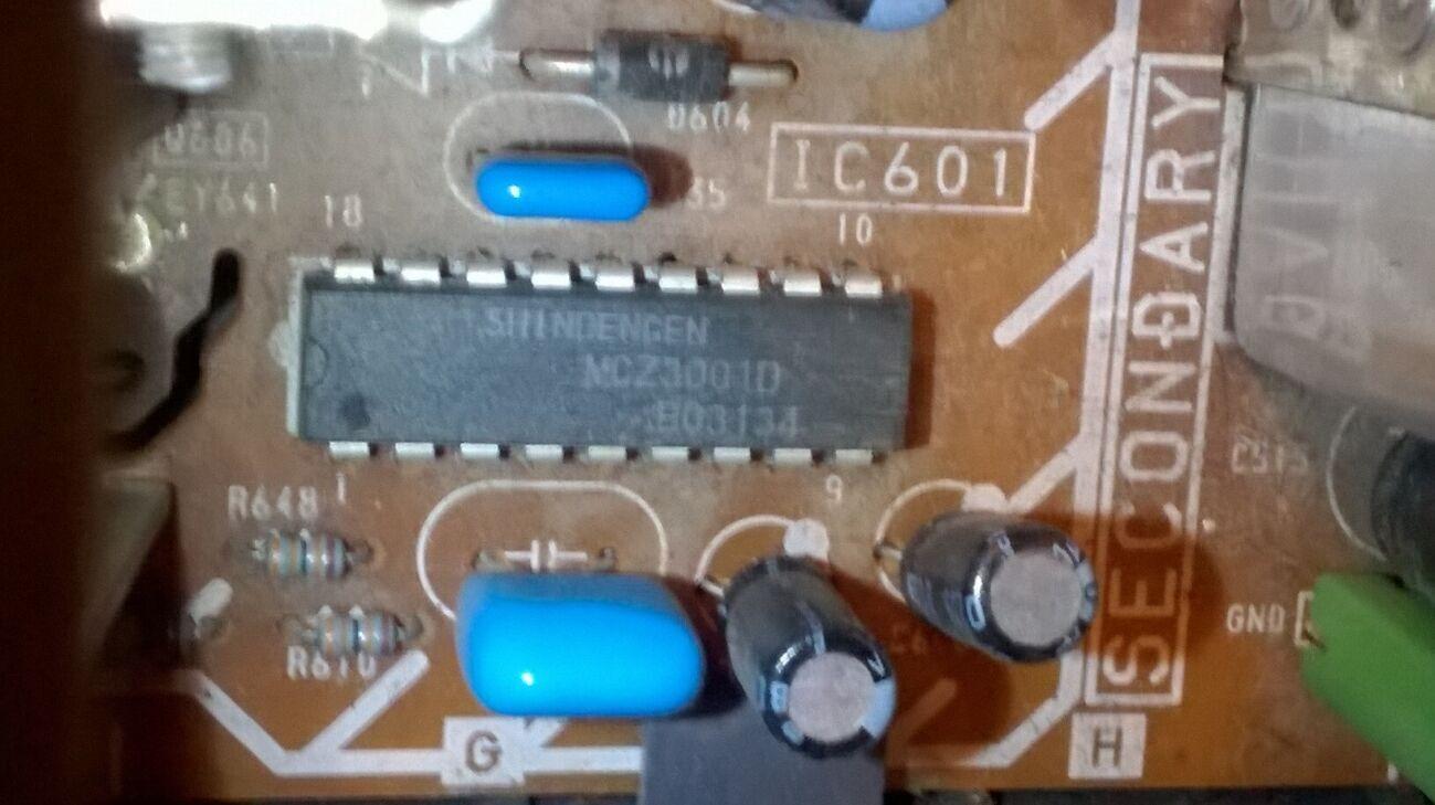MCZ3001D - фирменная стоит на плате сони и работает.