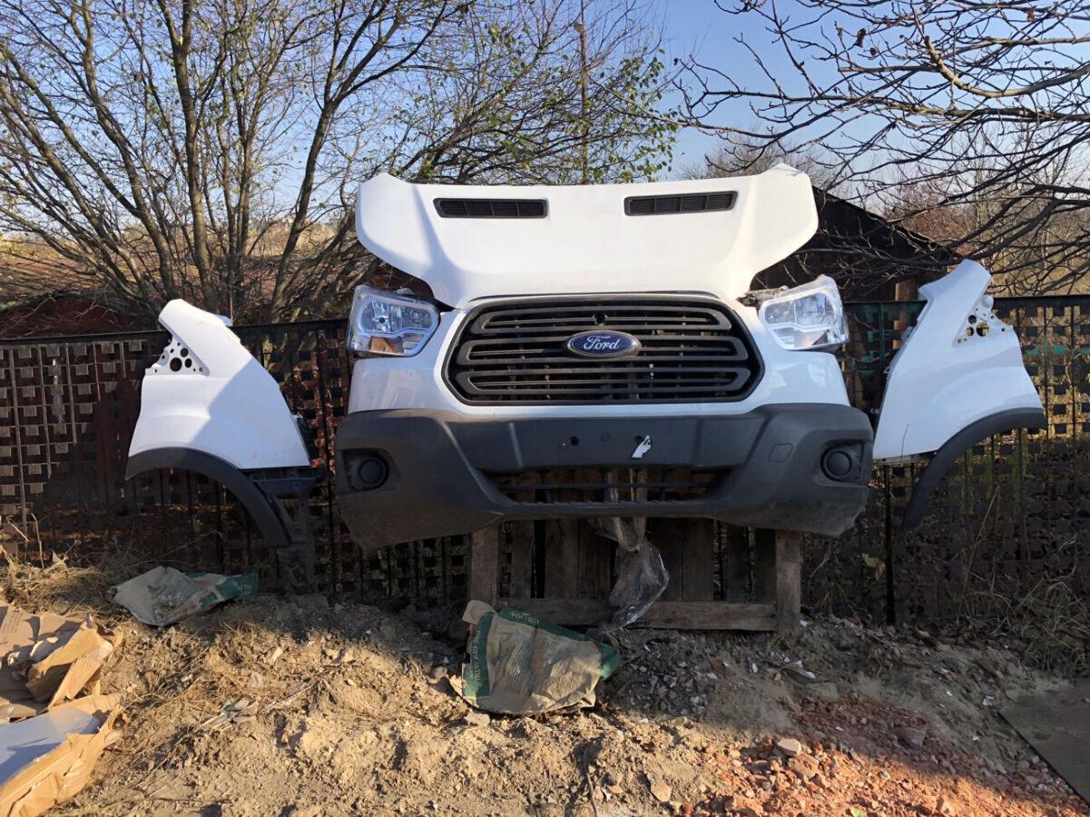 Форд Транзит капот крыло бампер фары радиатор Ford Transit c 2014 г