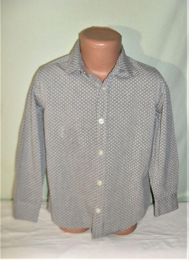 Рубашка с длинным рукавом на 6-7лет