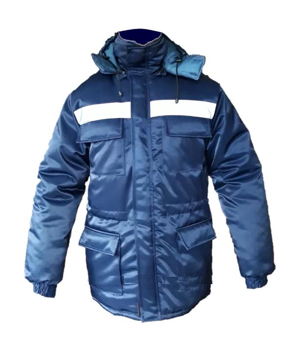 Куртка утепленная рабочая Юпитер Стронг, темно-синяя
