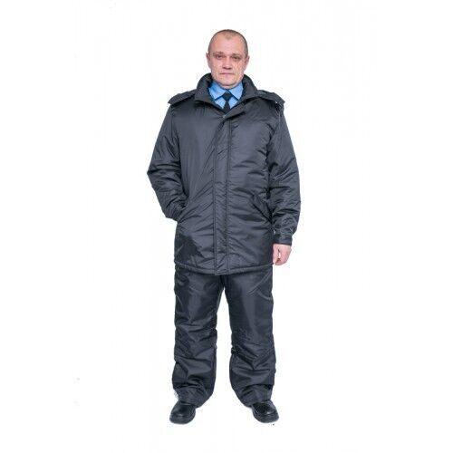 Куртка утепленная рабочая Аскольд, темно-серая