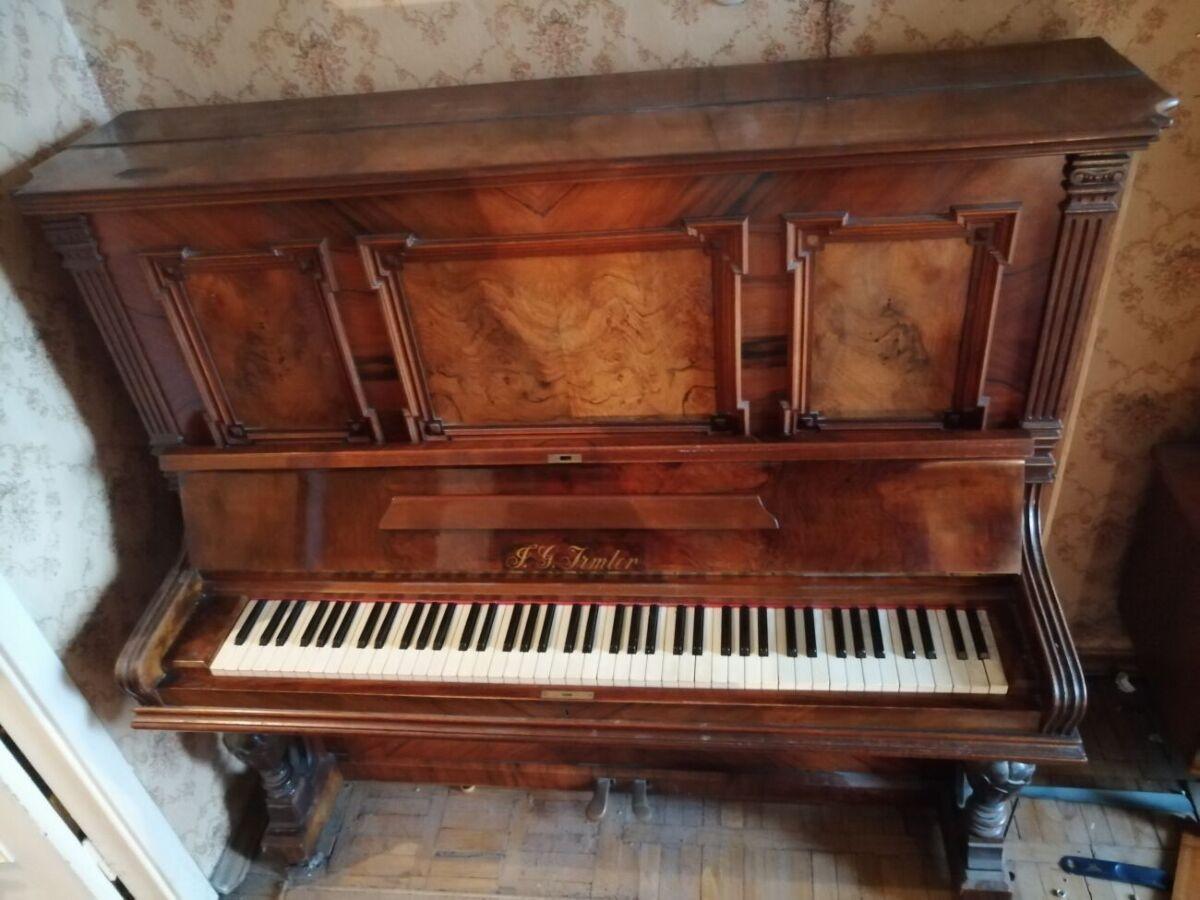 Немецкое пианино J.G.Irmler