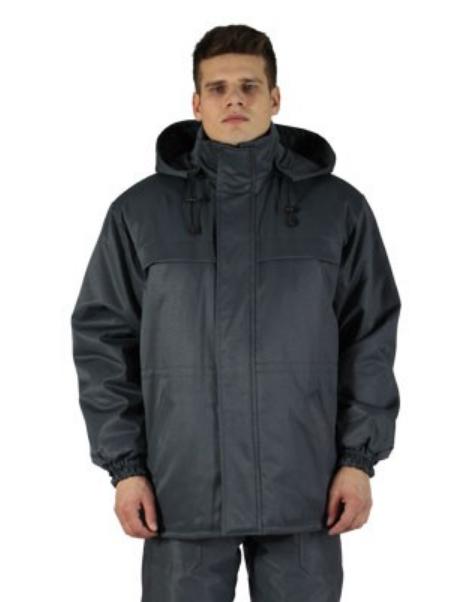 "Куртка утепленная рабочая ""Полюс"", цвет серый"