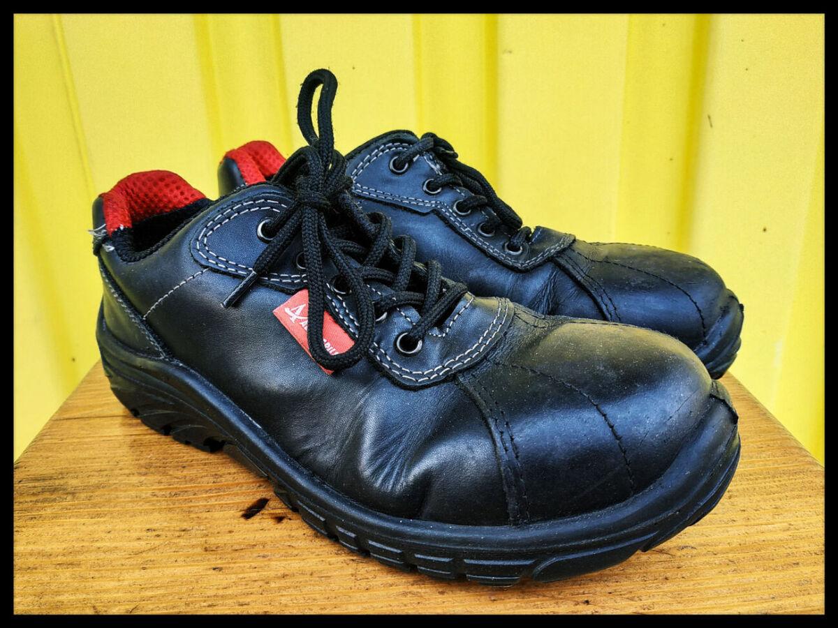 Кожаные рабочие ботинки итальянского дизайна