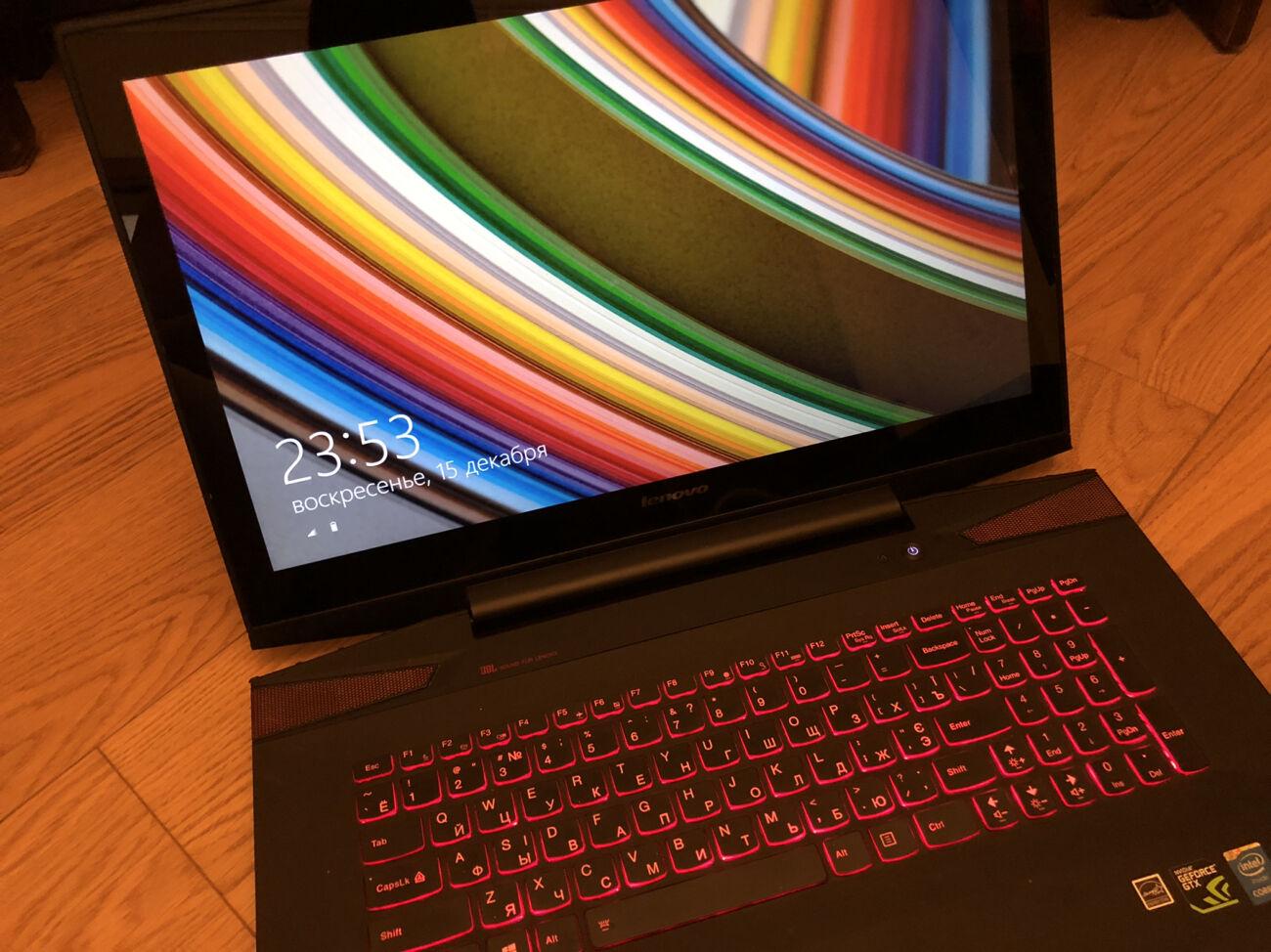 Продам Ноутбук Lenovo Y70-70 Touch