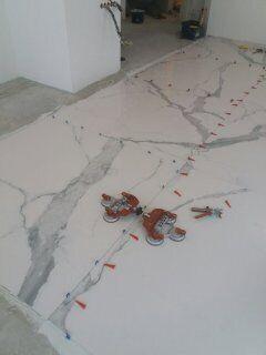 Порезка плитки, резка крупноформатной плитки