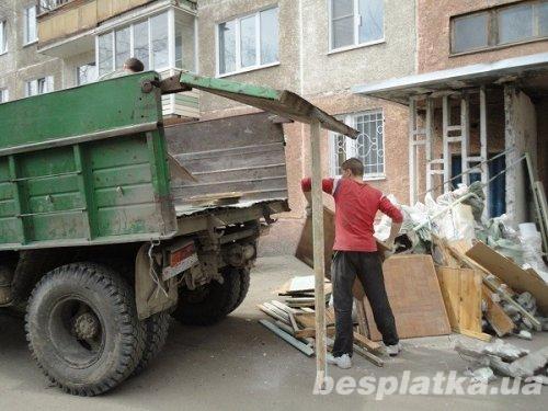 Фото - Вывоз строительного мусора