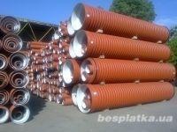 Трубы гофрированные для наружной канализации