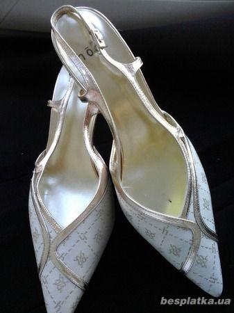 Нарядные туфельки-босоножки