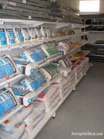 Фото 2 - Продам торговое оборудование для магазинов стройматериалов