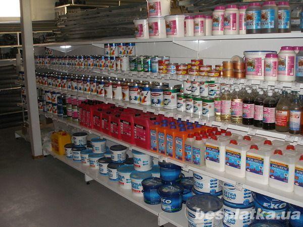 Фото - Продам торговое оборудование для магазинов стройматериалов
