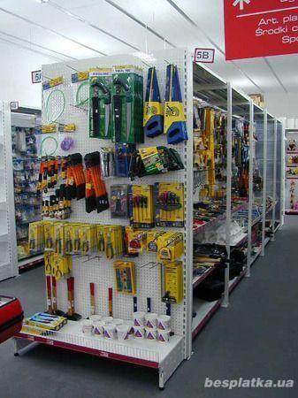Фото 3 - Продам торговое оборудование для магазинов стройматериалов