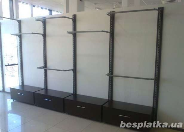 eac3ce26ce3 Витрины и стеллажи б у и новые ᐉ Купить торговые стеллажи и витрины ...