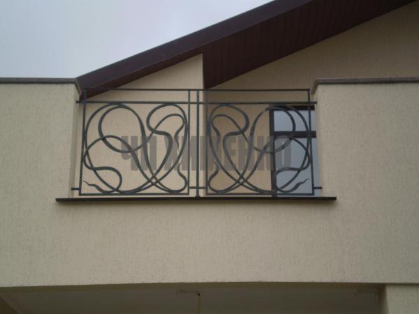 Кованные балконы, кованные террасы купить в Харькове