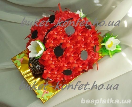 Цветы букеты конфеты, подарки женщинам, дамам, мамам, учителям, дочкам