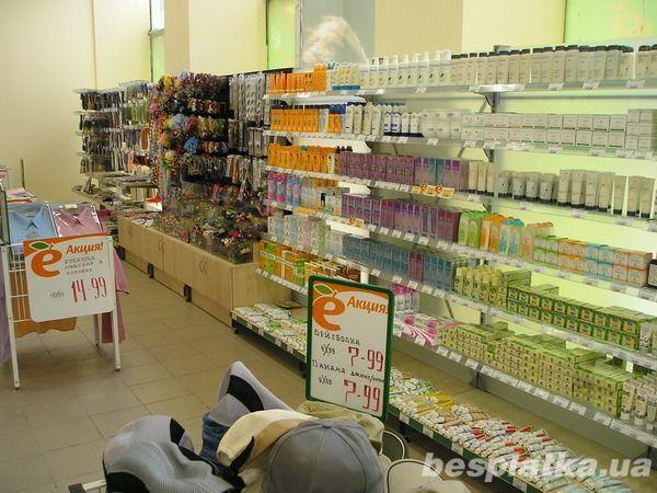 Фото 6 - Продам торговые металлические стеллажи для магазинов формата дрогери