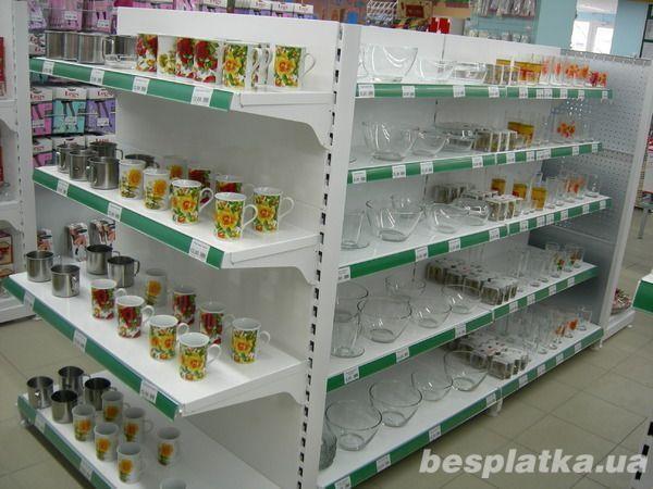 Фото - Продам торговые металлические стеллажи для магазинов формата дрогери