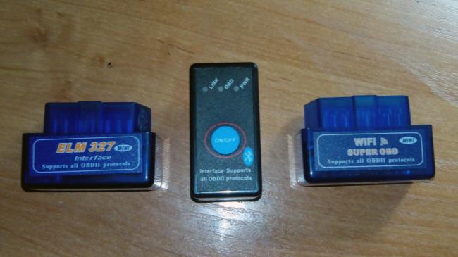 Фото - Сканер ELM327 OBD-IIOBD2 super mini Bluetooth