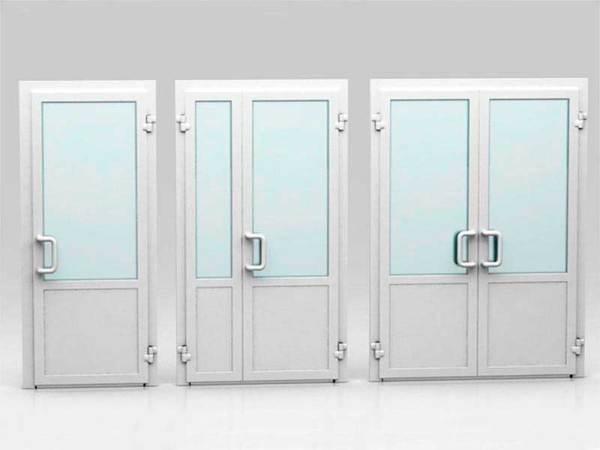 Двери межкомнатные металлопластиковые и алюминиевые ПВХ